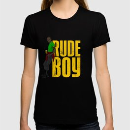 Rude Boy design | Jamaican Reggae Yardie graphics T-shirt