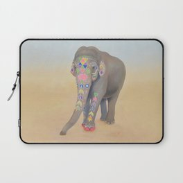 Painted Lady, Sujatha Laptop Sleeve