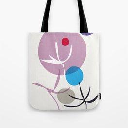 garden zen - purple sun Tote Bag