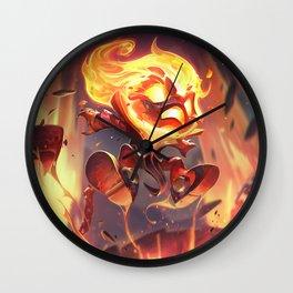 Infernal Amumu League Of Legends Wall Clock