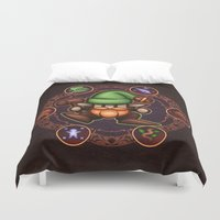 gnome Duvet Covers featuring Gnome  by likelikes