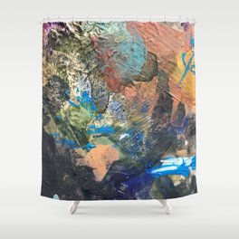 Colorful Abstract Nature 1 Shower Curtain