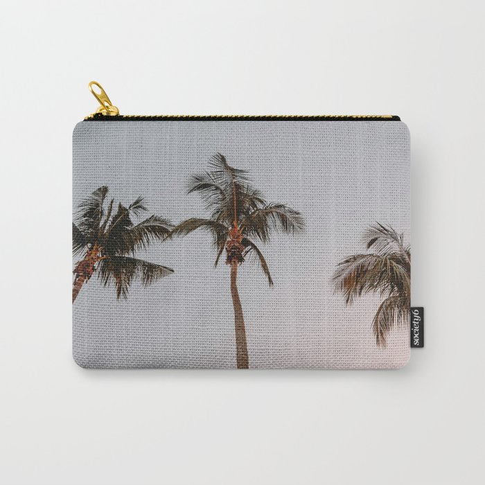 three palm trees Carry-All Pouch