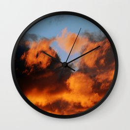 Sunset #207 Wall Clock
