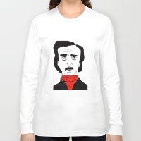 poe Long Sleeve T-shirts featuring Poe by Natália Damião