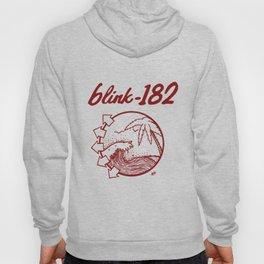 blink-182 beach RED Hoody