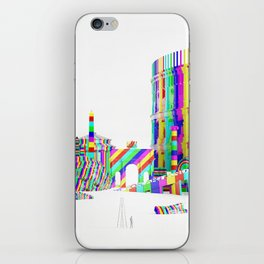 Color-Block Capriccio iPhone Skin