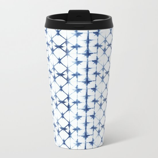 Shibori Thirteen Metal Travel Mug