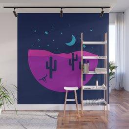 Modern Desert Cactus Scene #desert #cactus Wall Mural