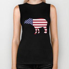"Tapir ""American Flag"" Biker Tank"