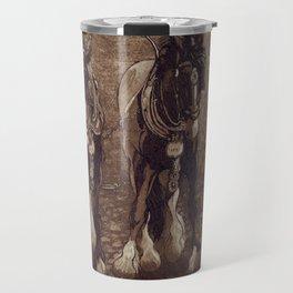 Shires / Horses Travel Mug