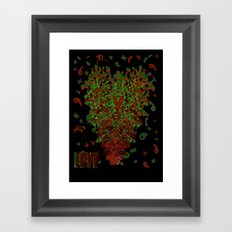 Corazon Framed Art Print