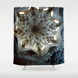 Looking Up Hall of the Abencerrajes, Alhambra Shower Curtain