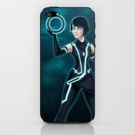 Quorra / Tron Legacy iPhone Skin