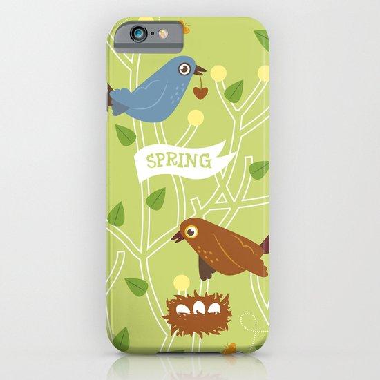 4 Seasons - Spring iPhone & iPod Case