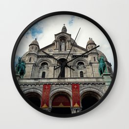 Sacred Heart Paris Wall Clock