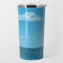 Polarized Ocean Panting Travel Mug