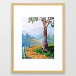 The gum tree Framed Art Print