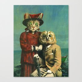 The Owl And The Pussy Cat Canvas Print