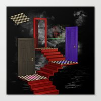 nightmare Canvas Prints featuring nightmare by Ancello