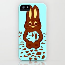 Chocolate Hunting iPhone Case