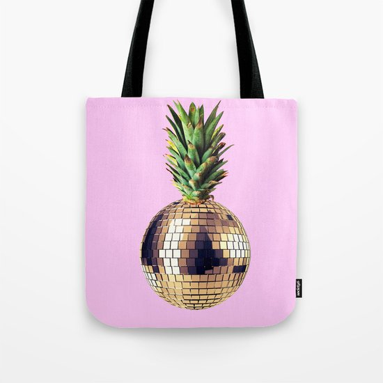 Ananas party (pineapple) Pink version Tote Bag