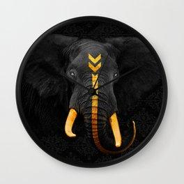 Elephant King Wall Clock