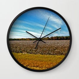 Cotton and Clouds Wall Clock