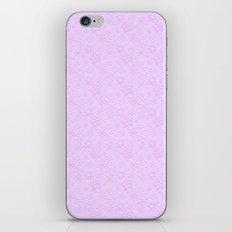 Dancing Purple Colored Snowflakes iPhone & iPod Skin