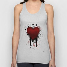 Corazon Transgotico Unisex Tank Top