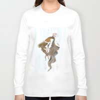 jack frost Long Sleeve T-shirts featuring Jack Frost by becka_miller