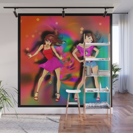 Moves Wall Mural