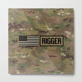 Rigger (Camo) Metal Print