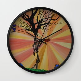 Dead Man Walking  Wall Clock