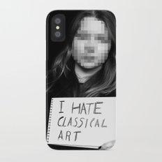 I Hate Classical Art Slim Case iPhone X