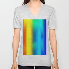 Rainbow Glowing Unisex V-Neck