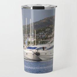 Yalikavak Marina Bodrum Turkey Travel Mug