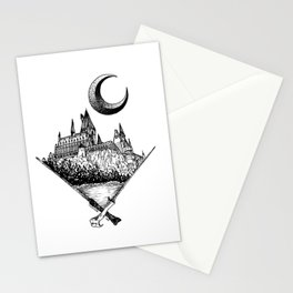 The wizards castle Stationery Cards
