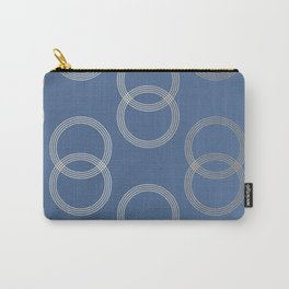 Simply Infinity Link in White Gold Sands on Aegean Blue Carry-All Pouch