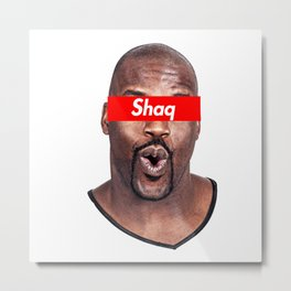 Shaquille Metal Print