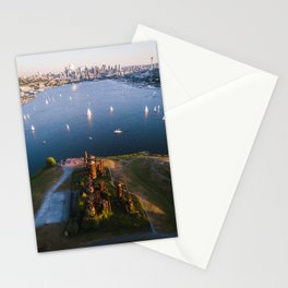 Gas Works and Lake Union Stationery Cards