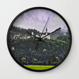 Castle Neuschwanstein Germany Wall Clock