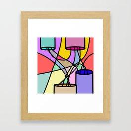 Pwer Framed Art Print
