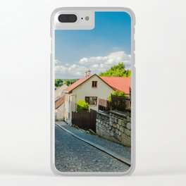 A street in Turnov Clear iPhone Case