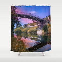 Iron Bridge 1779 Shower Curtain