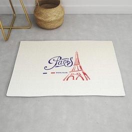 Eiffel Tower, Paris, France. Rug