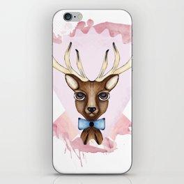 Pink Deer - Ciervo Rosa iPhone Skin