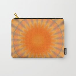 Sunny Side Bubble Dot Pattern 8 Carry-All Pouch