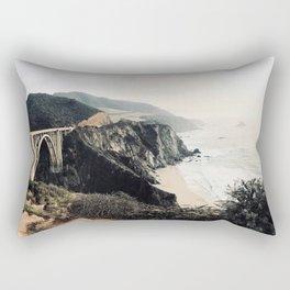 Bixby bridge just before sunset Rectangular Pillow