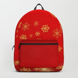 Luxury Happy Christmas Backpack